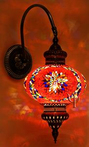 Picture of Mosaic Wall Lamp