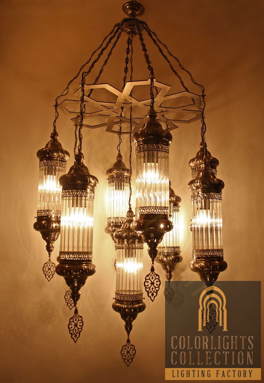Mosaic lamps ottoman lamps turkish lighting manufacturerpyrex picture of pyrex glass chandelier arubaitofo Images